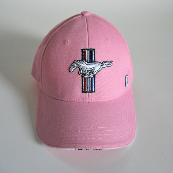 292840dca04 Genuine Ford Accessories - Ford Mustang GT Pink Baseball Cap